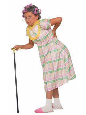 Girls Aunt Gertie Costume