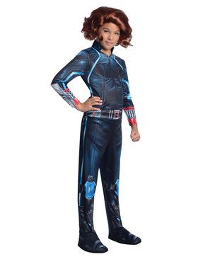 Girls Avengers 2 Black Widow Costume