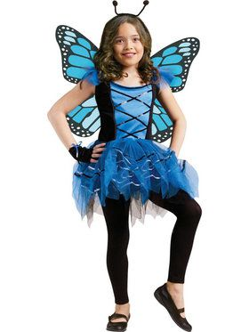 Girls Ballerina Butterly Child Costume