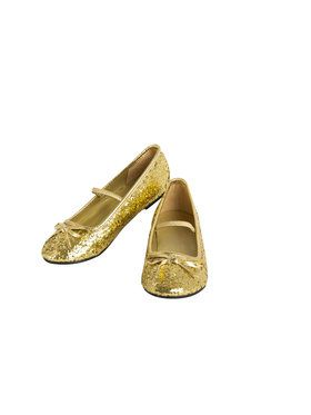 Ballet Gold Shoes