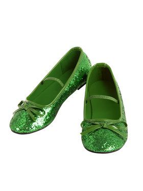 Ballet Green Shoes