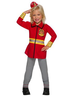 Barbie Firefighter Costume for Girls