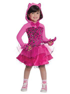 Barbie Pink Kitty Kids Child Costume