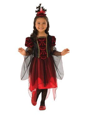 Girls Bat Princess Costume