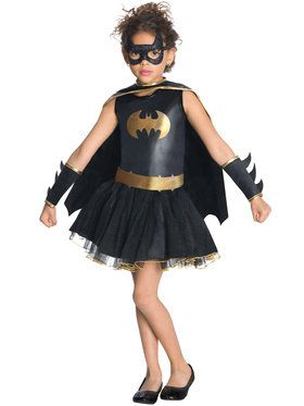 Batgirl Tutu Girls Costume