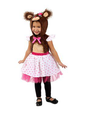 Girls Belinda Bear Child Costume
