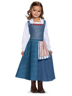 Girls Belle Peasant Look Classic Costume
