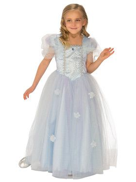 Blue Sparkle Princess Costume for Girls