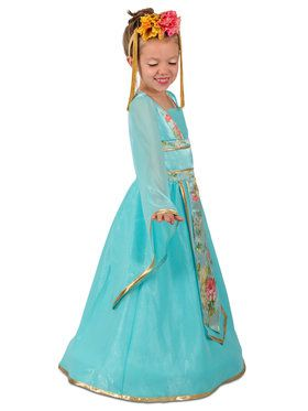 Girls Cherry Blossom Princess Costume