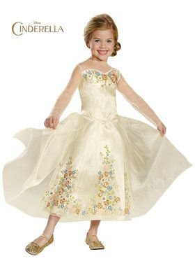 Girls Cinderella Movie Deluxe Wedding Dr