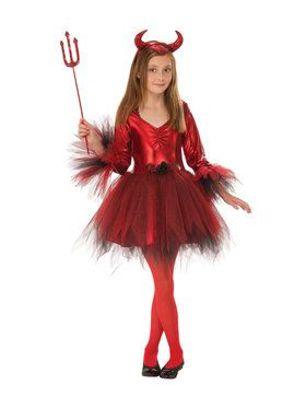 Kids Classic Devil Costume