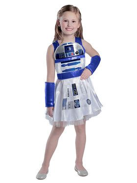 Girls Classic Star Wars R2D2 Dress Costume