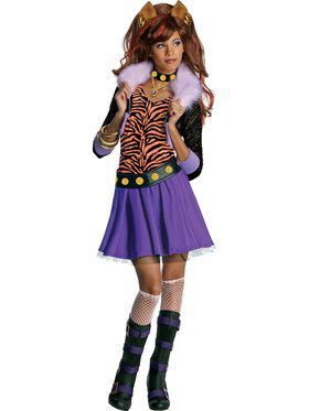 Clawdeen Wolf Costume Ideas