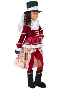 Girls Colonial Equestrienne Costume