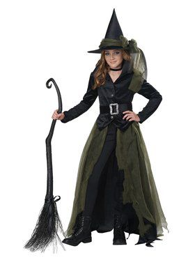 Girls Cool Witch Costume