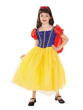Girls Cottage Princess Costume