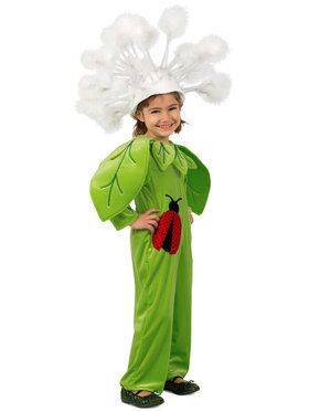 Girls Dandelion Costume