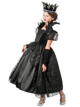 Girls Dark Princess Costume