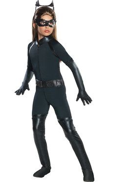 Catwoman Deluxe Kids Costume