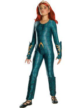 Mera Girls Deluxe Costume