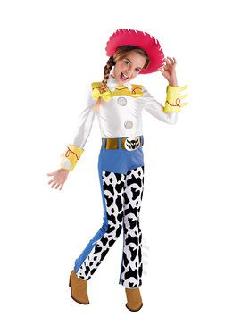 Jessie Deluxe Girls Toy Story 3 Costume