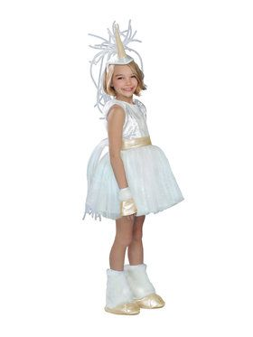 Deluxe Girls Unicorn Costume