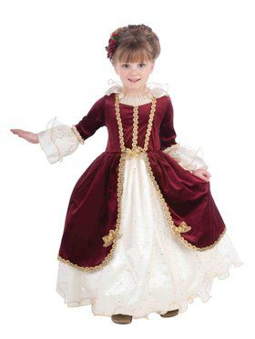 Elegant Lady Designer Costume for Girls