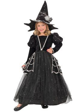Girls Diamond Witch Child Costume