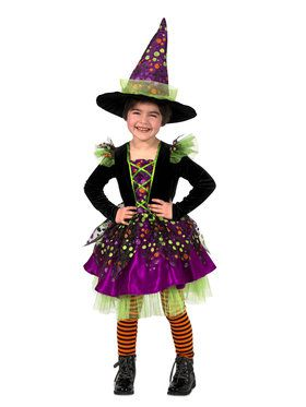 Toddler Dotty The Witch Halloween Costume