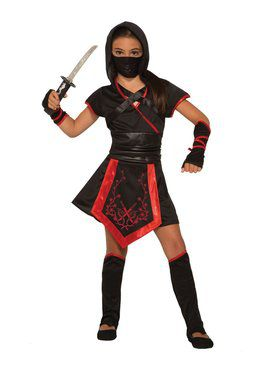 Girl's Dragon Blade Ninja Costume