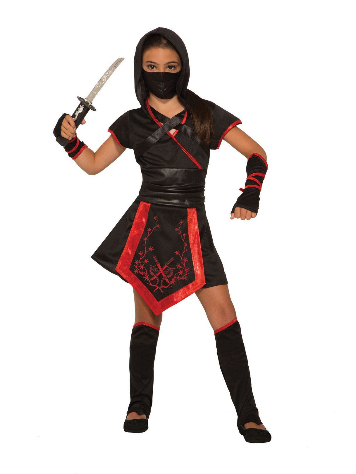 how to make a girl ninja costume