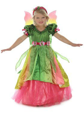 Girls Eden the Garden Princess Child Costume