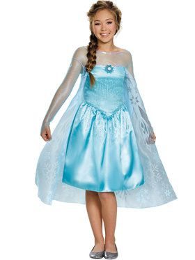 Elsa Tween Girls Costume