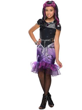 Ever After High Raven Queen Girls Costu