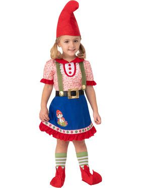 Girls Fern The Gnome Costume for Toddlers