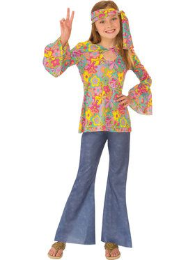 Flower Child Costume for Girls