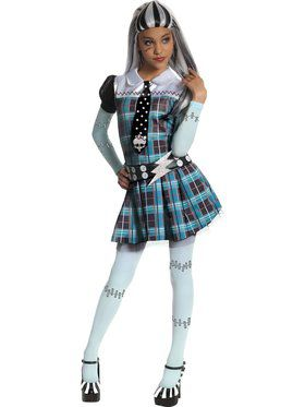 Girls Frankie Stein Monster High Costume