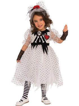 Girls Ghost Girl Costume
