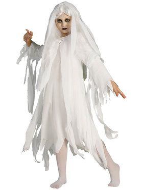 Ghostly Spirit Costume for Girls