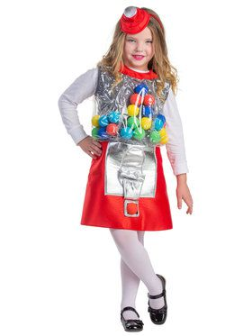 Girls Gumball Machine Costume