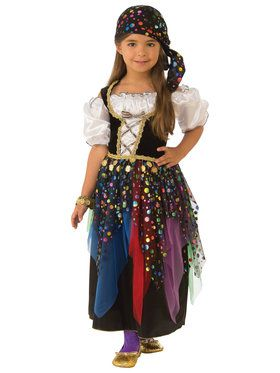 Girl's Gypsy Fortune Teller Costume