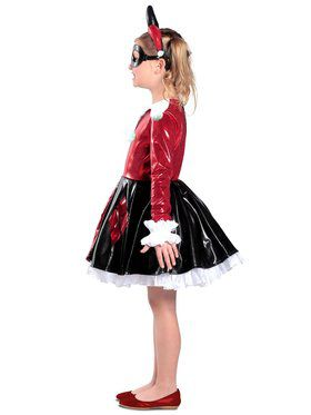 Girls Harley Quinn Premium Dress