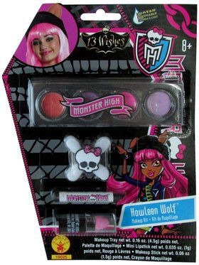 Girls Howleen Monster High Makeup Kit