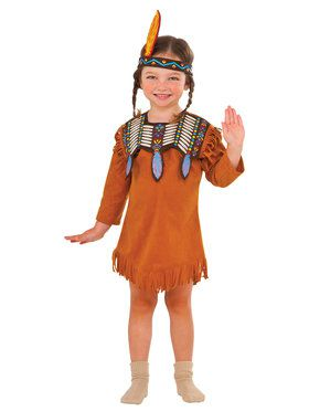 Indian Maiden Girls' Costume