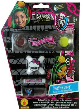 Girls Jinafire Monster High Makeup Kit
