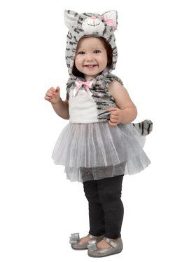 Girls Katrina Kitty Child Costume
