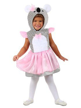 Girls Kimmy Koala Child Costume