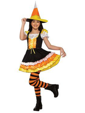 Girls' Candy Witch Costume