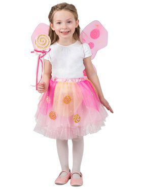 Girls Lollipop Fairy Skirt Set