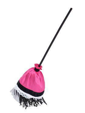 Girls Luna the Witch Broom Costume
